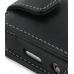 Samsung M8910 Pixon12 Leather Flip Case (Black) handmade leather case by PDair