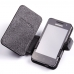 Samsung Galaxy Player 3.6 Leather Flip Cover genuine leather case by PDair