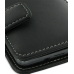 Samsung Galaxy R Leather Flip Cover (Black) handmade leather case by PDair
