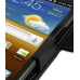 Samsung Galaxy R Leather Flip Cover (Black) top quality leather case by PDair