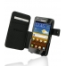 Samsung Galaxy R Leather Flip Cover (Black) custom degsined carrying case by PDair