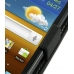 Samsung Galaxy R Leather Flip Case (Black) top quality leather case by PDair