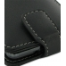 Samsung Galaxy R Leather Flip Top Case (Black) genuine leather case by PDair