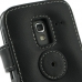 Samsung Galaxy Ace Plus Leather Flip Cover protective carrying case by PDair