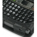 Samsung SGH-i780 Leather Flip Cover (Black Croc) handmade leather case by PDair