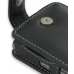 Samsung SGH-i780 Leather Flip Case (Black) genuine leather case by PDair