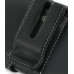 Samsung SGH-i780 Leather Holster Case (Black) protective carrying case by PDair