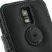 Samsung Galaxy S2 LTE i9210 Leather Flip Cover (Black) protective carrying case by PDair