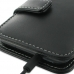 Samsung Galaxy S2 LTE i9210 Leather Flip Cover (Black) handmade leather case by PDair