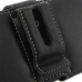 Samsung Galaxy S2 LTE i9210 Leather Holster Case (Black) protective carrying case by PDair