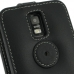 Samsung Galaxy S2 LTE i9210 Leather Flip Top Case (Black) protective carrying case by PDair