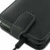 Samsung Galaxy S2 LTE i9210 Leather Flip Top Case (Black) handmade leather case by PDair