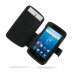 Samsung Captivate Galaxy S Leather Flip Cover (Black) offers worldwide free shipping by PDair