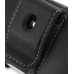Samsung S5620 Monte Leather Holster Case (Black) protective carrying case by PDair