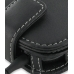 Samsung Google Nexus S Leather Flip Case (Black) genuine leather case by PDair