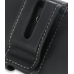 Samsung Google Nexus S Leather Holster Case (Black) protective carrying case by PDair