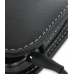 Samsung Google Nexus S Leather Holster Case (Black) genuine leather case by PDair