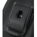 Samsung Google Nexus S Pouch Case with Belt Clip (Black) protective carrying case by PDair