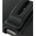 Samsung OMNIA 7 Leather Holster Case (Black) protective carrying case by PDair