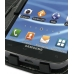 Samsung Galaxy S2 T989 Leather Flip Cover genuine leather case by PDair