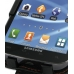 Samsung Galaxy S2 T989 Leather Flip Case (Orange Stitch) genuine leather case by PDair