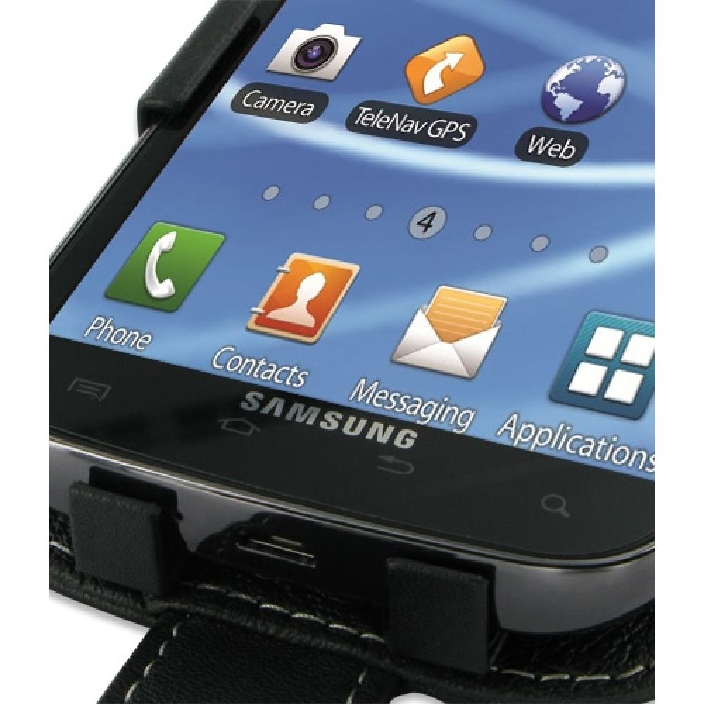 samsung galaxy s2 t989 leather flip case cover pdair