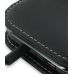 Samsung Vibrant Galaxy S Leather Flip Cover (Black) top quality leather case by PDair