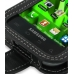 Samsung Vibrant Galaxy S Leather Flip Case (Black) top quality leather case by PDair