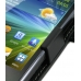 Samsung Wave M Leather Flip Cover (Black) genuine leather case by PDair