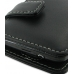 Samsung Wave M Leather Flip Cover (Black) top quality leather case by PDair