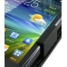 Samsung Wave M Leather Flip Top Case (Black) top quality leather case by PDair