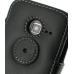 Samsung Wave Y Leather Flip Cover (Black) protective carrying case by PDair