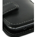 Samsung Wave Y Leather Flip Cover (Black) top quality leather case by PDair