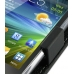 Samsung Wave Y Leather Flip Case (Black) genuine leather case by PDair