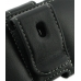 Samsung Wave Y Leather Holster Case (Black) protective carrying case by PDair