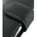 Samsung Wave Y Leather Holster Case (Black) genuine leather case by PDair