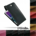 Samsung Galaxy Grand Max Leather Flip Top Case protective stylish skin case by PDair