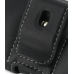 Samsung Galaxy 5 / Galaxy Europa Leather Holster Case (Black) protective carrying case by PDair
