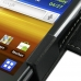Samsung Galaxy Y Duos Leather Flip Cover top quality leather case by PDair