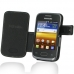 Samsung Galaxy Y Duos Leather Flip Cover custom degsined carrying case by PDair