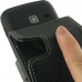 Samsung Galaxy Y Duos Leather Flip Case handmade leather case by PDair