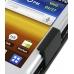Samsung Galaxy Y Leather Flip Case (Black) genuine leather case by PDair