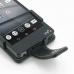 Sony Walkman F880 F886 Leather Flip Case genuine leather case by PDair