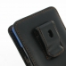 Sony Xperia Z1 (in Slim Cover) Pouch Clip Case (Orange Stitch) top quality leather case by PDair