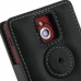Sony Xperia Sola Leather Flip Cover (Black) protective carrying case by PDair