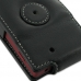 Sony Xperia Sola Leather Flip Case (Black) protective carrying case by PDair