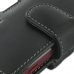 Sony Xperia Sola Leather Holster Case (Black) genuine leather case by PDair