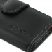 Sony Xperia Sola Leather Holster Case (Black) top quality leather case by PDair