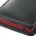 Sony Xperia Sola Leather Sleeve Pouch Case (Black) protective carrying case by PDair