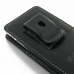 Sony Xperia J Pouch Case with Belt Clip genuine leather case by PDair
